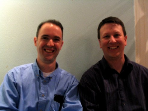 Drs Richard Grylls and Brent Stucker