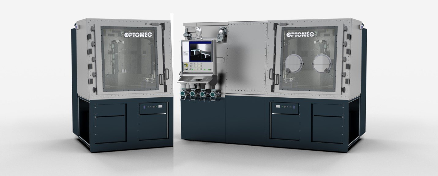 Optomec Announces New Compact 3D Metal Printers for Research to Production